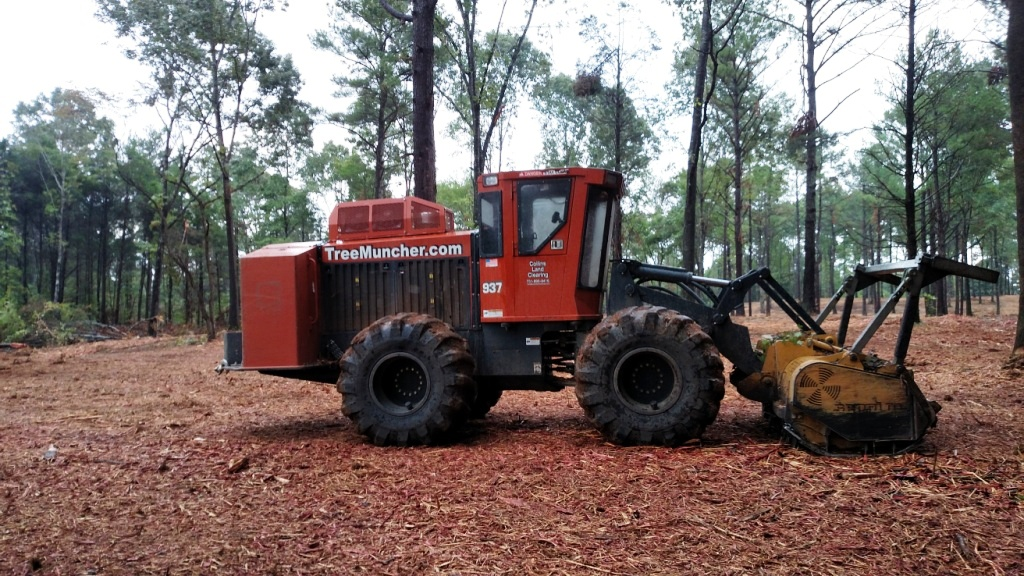 tire mulch machine